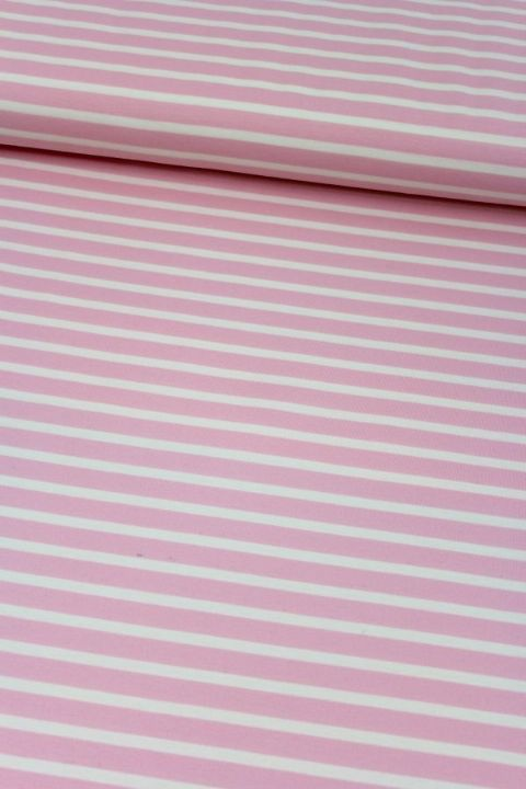 Pink and White Stripe - Ophelia